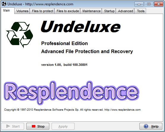 Click to view Undeluxe 1.00 screenshot